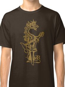 Dragon and fairy Classic T-Shirt