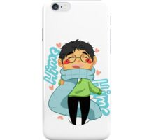 Hime Hime Scarf iPhone Case/Skin
