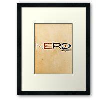 NERD Enterprises Framed Print
