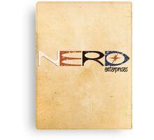 NERD Enterprises Canvas Print