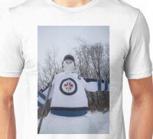 Jets Snowman Unisex T-Shirt
