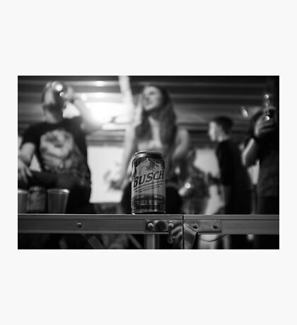 Busch Beer Photographic Print