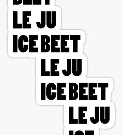 Beetlejuice - Beetlejuice Beetlejuice Beetlejuice Sticker