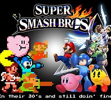 Nintendo Super Smash Bros. NES vs. Wii U/3DS 'Never Old'  by Trot4theWin