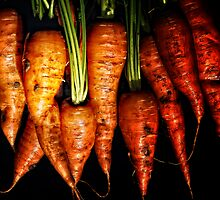 Fresh Carrots anyone? by Simon Duckworth