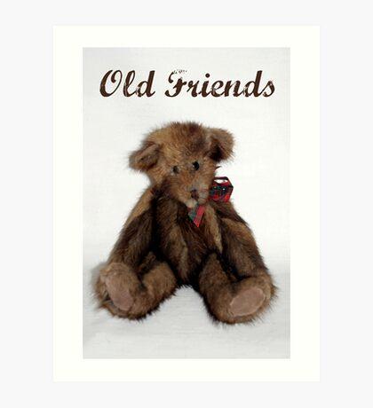 Old Friends Art Print