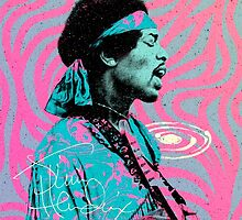Jimi Hendrix - Psychedelic Sixties by Pepe Psyche by Pepe Psyche
