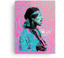 Jimi Hendrix - Psychedelic Sixties by Pepe Psyche Metal Print
