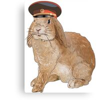 Communist Bunny Canvas Print