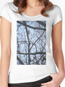 Woodpecker Women's Fitted Scoop T-Shirt
