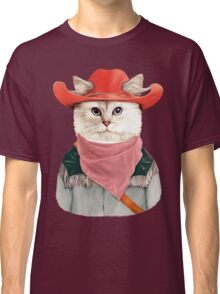 Rodeo Cat Classic T-Shirt