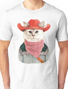 Rodeo Cat Unisex T-Shirt