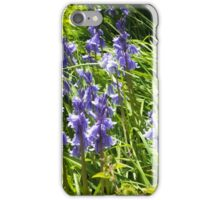 Close up of spring bluebells iPhone Case/Skin