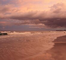Sea Dreaming at Kingscliff  by gail woodbury