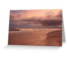 Sea Dreaming at Kingscliff  Greeting Card