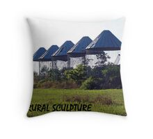 RURAL SCULPTURE Throw Pillow