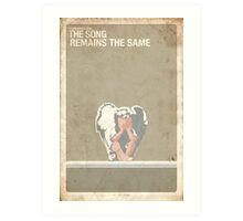 Supernatural 5x13 - The Song Remains The Same Art Print