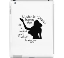 Disney Princesses: Pocahontas *Black version* iPad Case/Skin