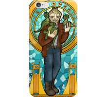 St. Christopher of the Velociraptors iPhone Case/Skin