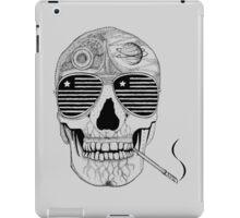 GONZO SKULL (INK ONLY) iPad Case/Skin