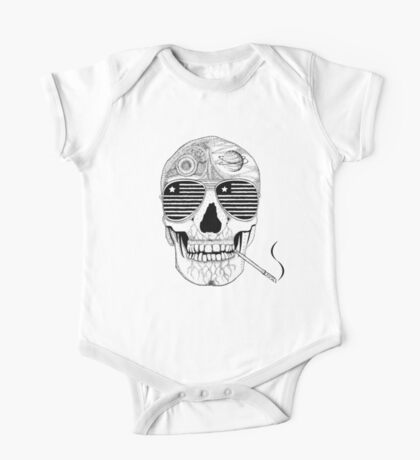 GONZO SKULL (INK ONLY) One Piece - Short Sleeve