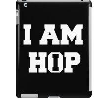 I am HIP HOP - Black Version iPad Case/Skin