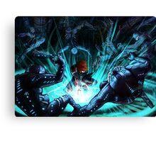 Mass Effect - Biotic Blitz Canvas Print
