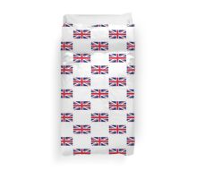 United Kingdom World Cup Flag - Union Jack T-Shirt Duvet Cover