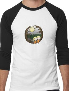 Lost In The Forest Men's Baseball ¾ T-Shirt