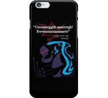 Berserker Quote iPhone Case/Skin