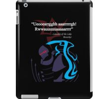 Berserker Quote iPad Case/Skin