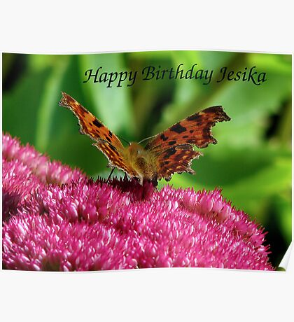 Happy Birthday Jesika Poster
