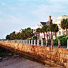 East Battery Seawall by Benjamin Padgett