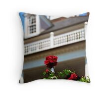 South Battery Rose Throw Pillow