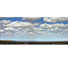 A Cloudless Sky - NOT! Photographic Print