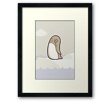 Dignified Penguin Framed Print