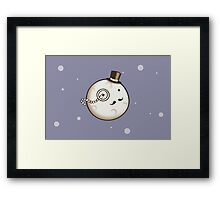 Dapper Moon Framed Print