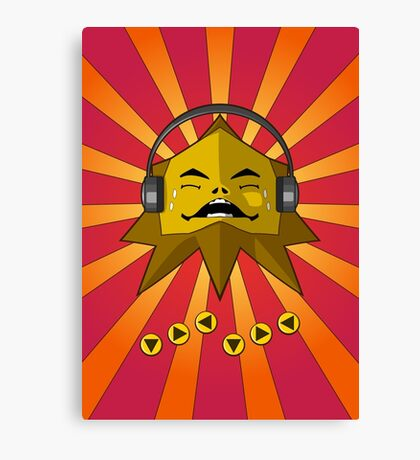 Hot Goron Beats: Redux Canvas Print