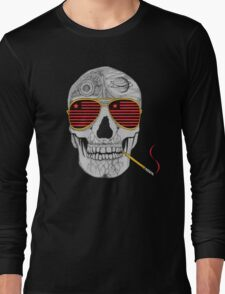 GONZO SKULL Long Sleeve T-Shirt