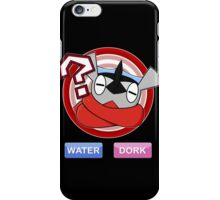 Water / Dork [Shiny] iPhone Case/Skin