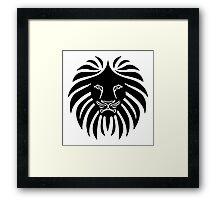 Like a Lion  Framed Print