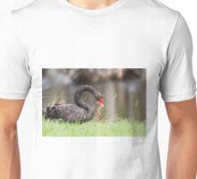 Rainy Day Swan Unisex T-Shirt