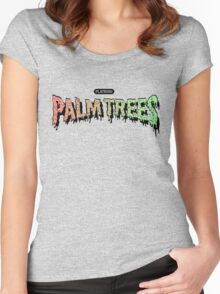 Palm Trees - Mashup! Women's Fitted Scoop T-Shirt