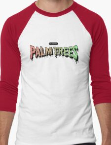 Palm Trees - Mashup! Men's Baseball ¾ T-Shirt