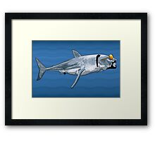 Sharkizzle Framed Print
