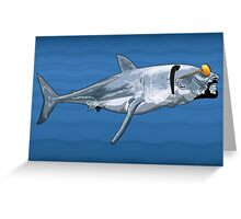 Sharkizzle Greeting Card