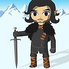 Link Does Jon Snow Cosplay by MrLunarbeam