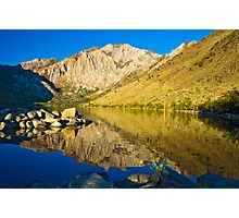 Morning at Convict Lake Photographic Print