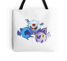 Spooky bat balls Tote Bag