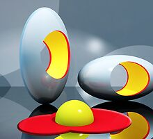 Eggs-actly by Keith Reesor